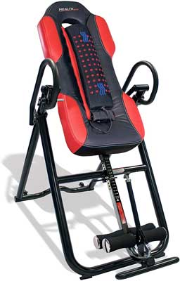 #6. Health Gear ITM5500 Heavy-Duty Advanced Technology Up To 300 Lbs. Inversion Table