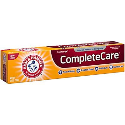 #4. Arm & Hammer 12 Pack 6 oz. Complete Care Toothpaste