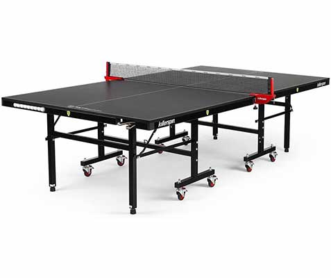 #2. Killerspin MyT7 Innovative Storage Foldable Ping Pong Table w/Matte Black Top