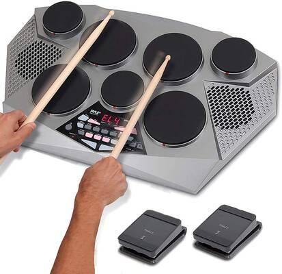 2. Pyle 7-Pad Drum Set (PTED06)