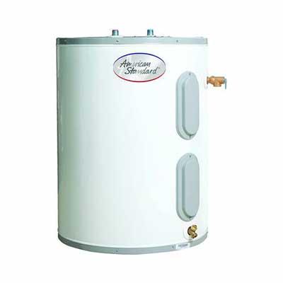 #5. American Standard Water Heater CE-12-AS 12 Gallon Point of Use Heavy-Gauge Steel Tank