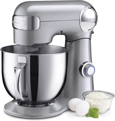 2. Cuisinart SM-50BC Stand Mixer, Silver Lining