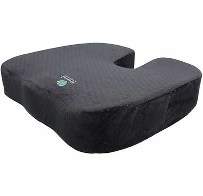 4. FOMI Extra-Thick Orthopedic Memory Foam for Back Pain Relief