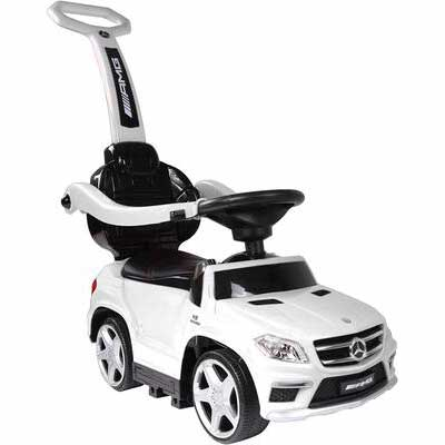 #2. Best Ride On Cars PC White 4 in 1 Mercedes Car