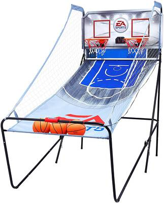 #2. EA Sports 2-player 8-in-1 Indoor Basketball Arcade Game