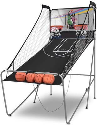 #10. Giantex Foldable Basketball Arcade Game, 8 Game Options