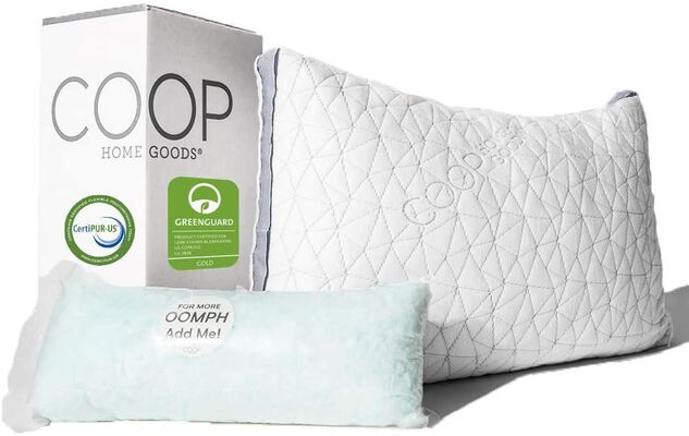 1. COOP HOME GOODS Adjustable Pillow- King