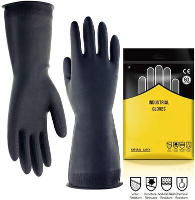 #6. DOUBLE ONE Chemical Resistant Gloves