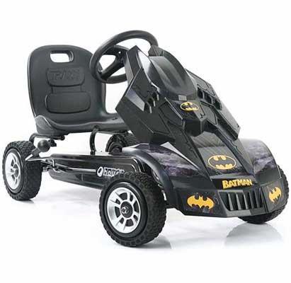 3. Hauck Pedal Batmobile Go Kart