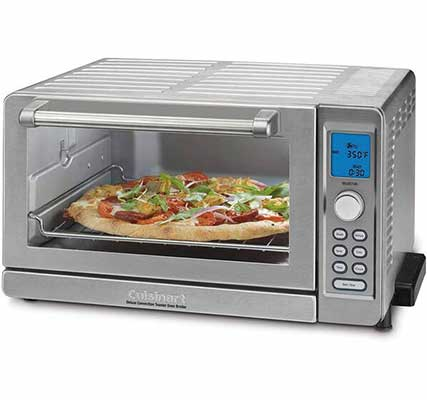 #10. Amazon Renewed Cuisinart TOB-135 Deluxe Convention Toaster Oven Boiler