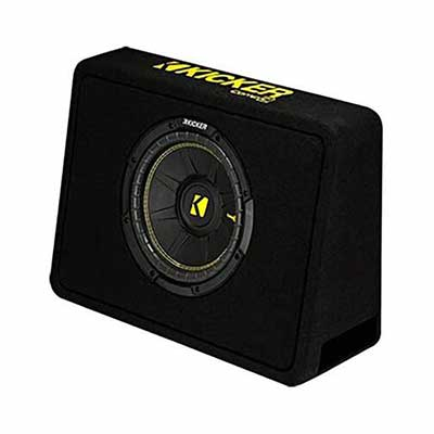 #8. Kicker Thin Profile Subwoofer