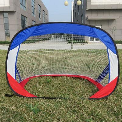 #5. RiverView Enterprise Metal Rimmed Portable Soccer Goal