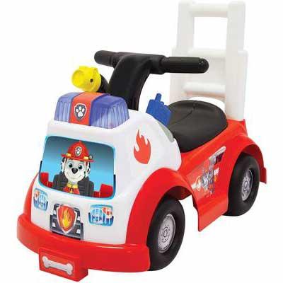 #1. Paw Patrol Ride on Marshall Fire Engine Toy
