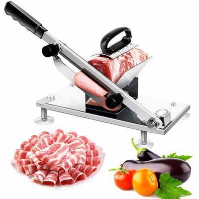 6. Garne T Manual Frozen Meat Slicer