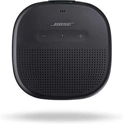 5. BOSE Bluetooth-Enabled Outdoor SoundLink Micro Hands-Free Portable Speaker (Black)