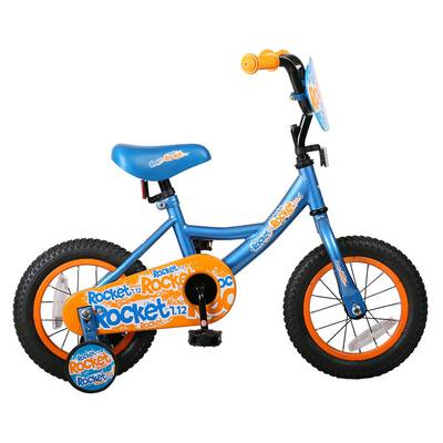 #7. JOYSTAR 12 inch Toddler Kids Bike with Full-Cover Chain Guard and Training Wheels
