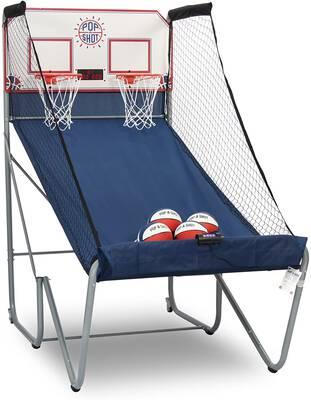 #1. Pop-A-Shot New Official Home Dual Shot Basketball Arcade