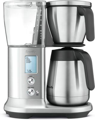 1. Breville Stainless Steel PID Temp Control Precision Brewer Drip Coffee Maker