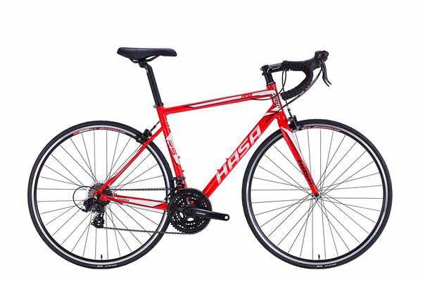 #4. HASA R5 21 Speed Derailleurs Shifters Aluminum Alloy 7005 700C Lightweight Road Bike Racer