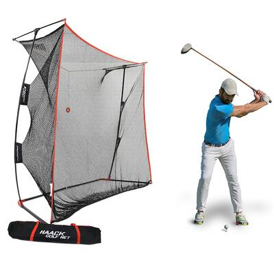 #1. Rukket Sports Haack Golf Net Pro