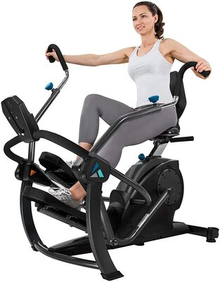 2. Teeter Cross Trainer Machine for Zero-impact Cardio with Patented Stride Technology