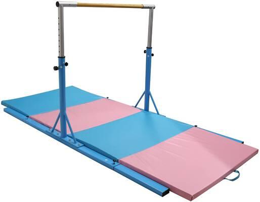 #4. Bestmart INC Adjustable Gymnastics Training Bar
