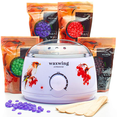 6- Wax Warmer (Heater) Hair Removal Kit