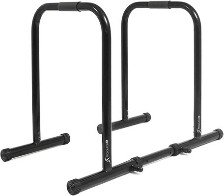 4. ProsourceFit Heavy Duty Adjustable Height Dip Bar Training Station for Triceps Dips