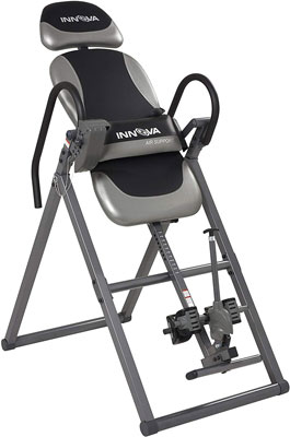 #3. Innova ITX9900 with Air Lumbar Support Heavy Duty Double Adjustment Deluxe Inversion Table