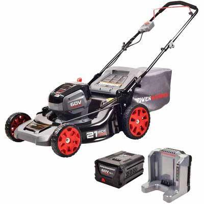 3. POWERWORKS 60V Brushless Mower