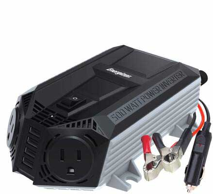 8. Energizer 548W SUB Charging Ports Power Inverter 12V DC to AC Plus 4 x 2.4A 9.6A