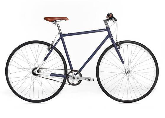 #2. Brilliant Bicycles Co L-Train Shimano Nexus 7 Internally Gate Carbon Belt Drive Commuter Bike