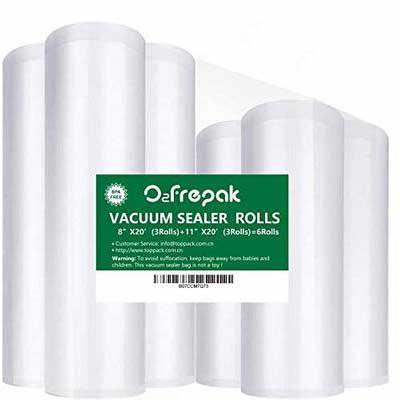 7. O2frepak Premium Food Saver Vacuum Sealer