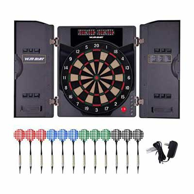 #2. WIN.MAX Electronic Soft Tip Dartboard