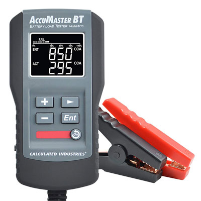 #5. Calculated Industries 8715 Accu. Master Battery Tester