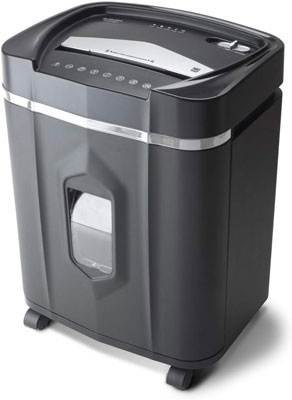 3. Aurora AU1210MA 12-Sheet Micro-Cut Run Time Shredder