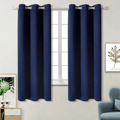 8. BGment Blackout Darkening Curtains 42 x 63 Inch for Bedroom