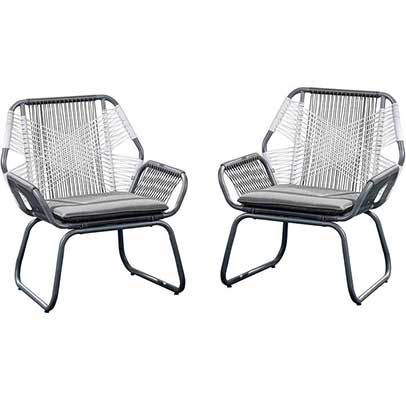 1. Christopher Knight Home Outdoor Club Chair - Set of 2