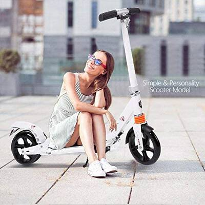 #9. Fast 88 Kids/Adults Scooter with 3 seconds Easy Folding System