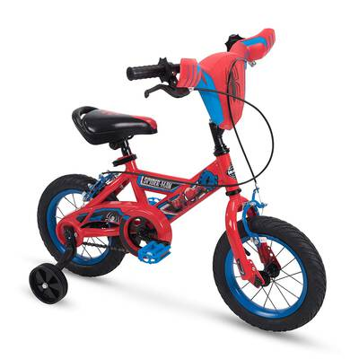 #8. Huffy 12 inches Spider-Man Marvel Boys Bike, Red