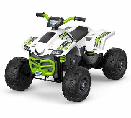 1. Power Wheels ATV Racing Toy