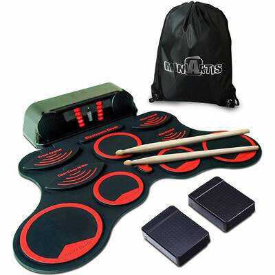 6. MiniArtis Electronic Drum Set for Kids