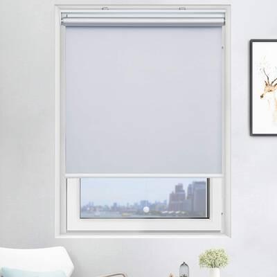 10. Acholo White 23x72 Home & Windows Darkening Shades Cordless Blackout Roller Blinds