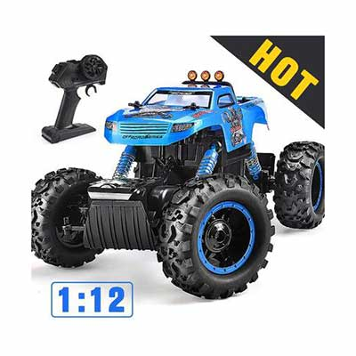 #5. NQD All-Terrain 4WD Off-Road Remote Control 1:12 Scale High-Speed Climbing Car
