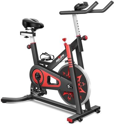 10. RELIFE REBUILD YOUR LIFE Indoor Cycling Bike