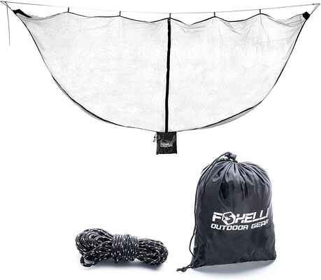10. Foxelli XL Hammock Net, Lightweight, and Portable