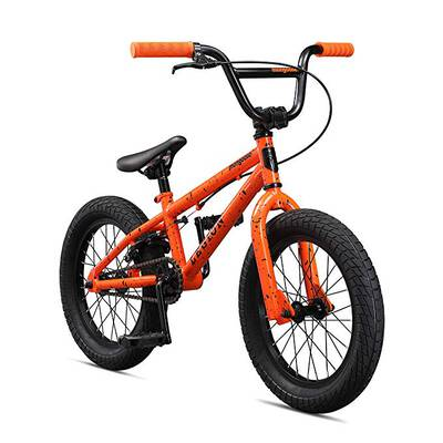 #1.Mongoose Legion 16-20-Inch Wheels Freestyle BMX Bike with Steel Frame