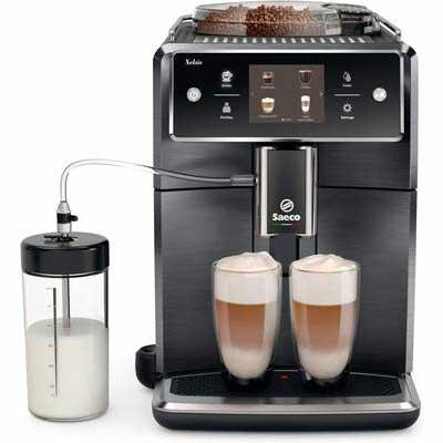 2. SAECO Titanium Metal Front Xelsis SM7684/04 Automatic Super Espresso Machine