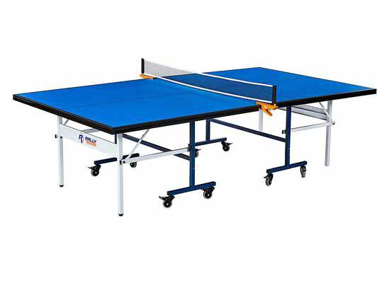#5. Rally & Roar Portable Indoor 15mm Quick Assembly Playback Mode Ping Pong Table