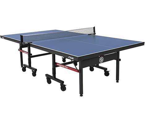 #3. STIGA Portable Pro Tournament Level Net & Post Set Quality Indoor Table Tennis Table